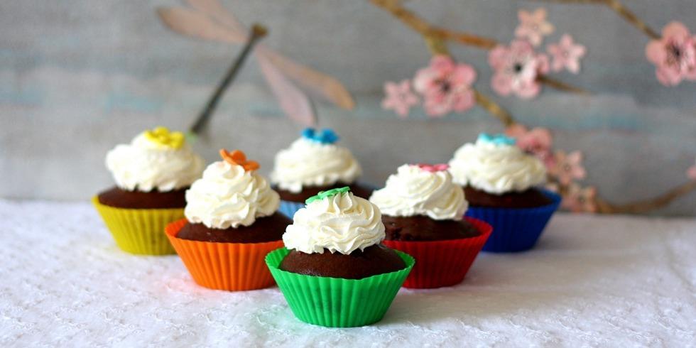 Muffin Vegan al cioccolato e banana