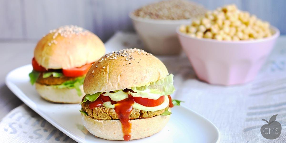 Favorito Hamburger di ceci e lenticchie [RICETTA VEGETARIANA] - Il Goloso  DR19