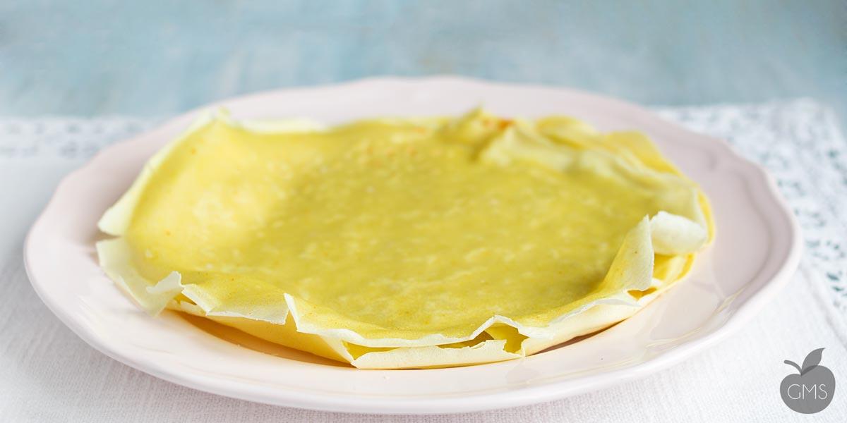 Ricetta crepes salate con olio