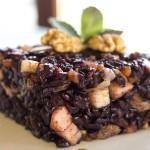 Riso Venere Vegan con la Frutta Secca | LaRoverella Agriturismo