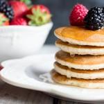 Pancake senza uova | Ricetta vegan