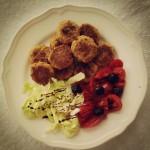 #iomangiosano | Polpette di soia
