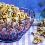 Granola fatta in casa | Ricetta facilissima