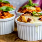 Spaghetti alla parmigiana|Monoporzione