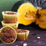 Muffin alla zucca e cioccolato | Ricetta vegan