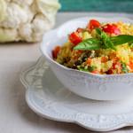 Cous cous di Cavolo | Ricetta senza glutine Low Carb