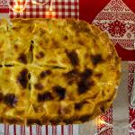 Timballo di pasta con zucca e funghi | Ricetta vegetariana
