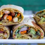 Burrito al farro | Ricetta Vegan