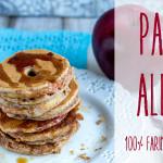 Pancake integrali alla mela   Ricetta vegan