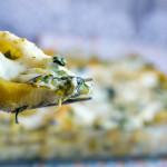 Conchiglioni agli spinaci | Pasta al forno Vegan