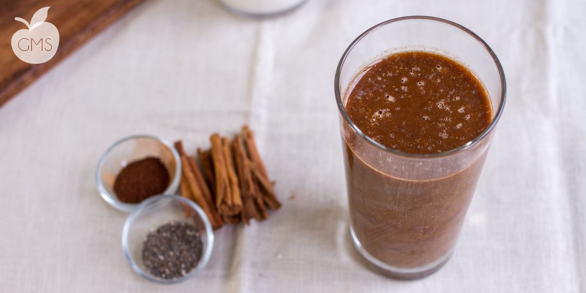 Smoothie banana & caffè   Energy drink