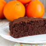 Torta al cioccolato e arancia | Ricetta Vegan