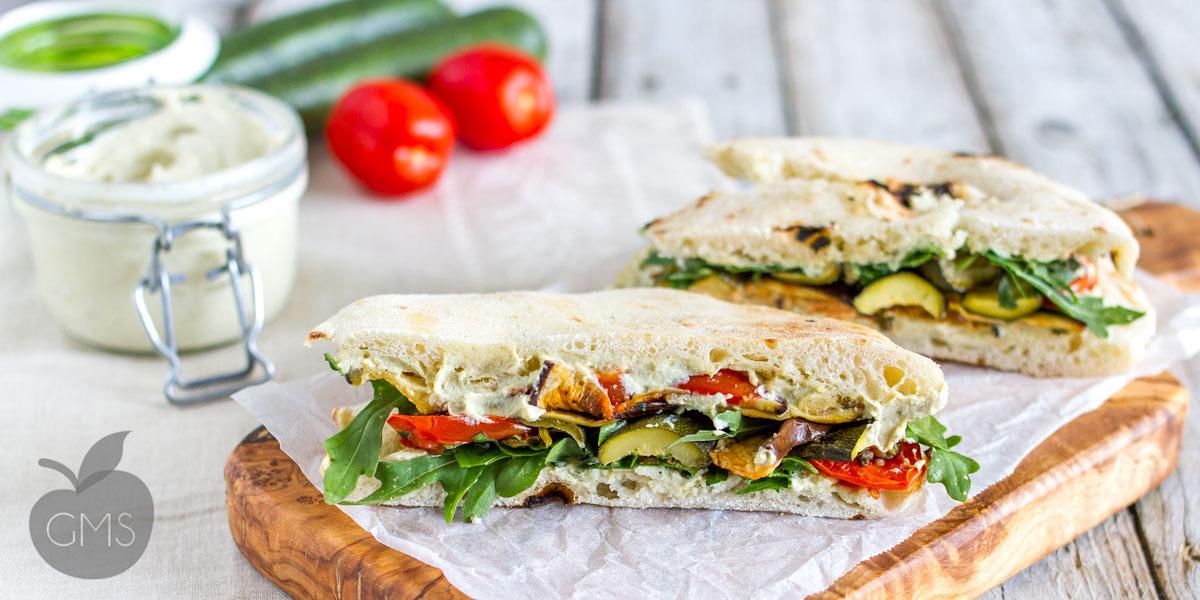 Panino mediterraneo | Ricetta Vegan