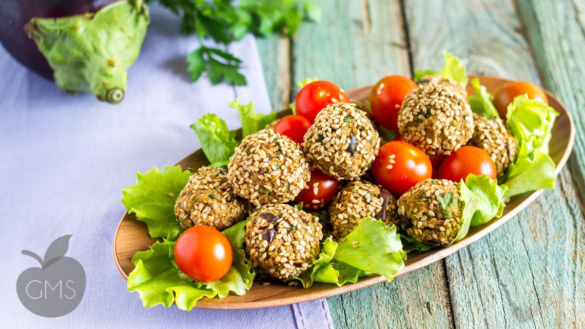 Preferenza Polpette di melanzane | Ricetta Vegan - Il Goloso Mangiar Sano ZM46