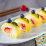 Sushi alla frutta – Ricetta Vegan