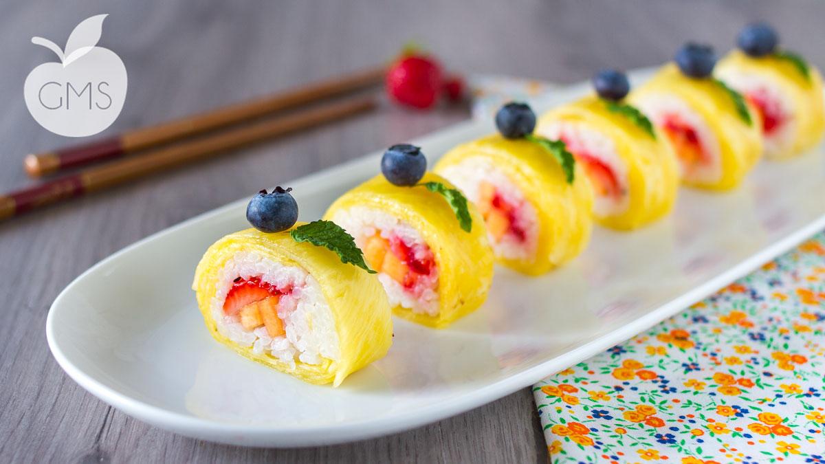 Sushi alla frutta