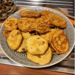 Pancake alle melanzane e pomodoro | #iomangiosano