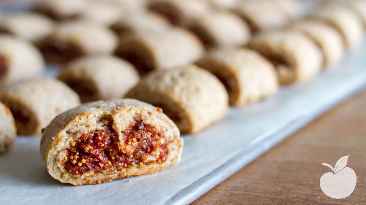 abbastanza Biscotti ai fichi | Ricetta Vegan - Il Goloso Mangiar Sano HP11