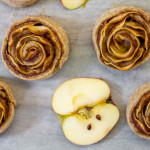 Roselline di mele | Ricetta vegan