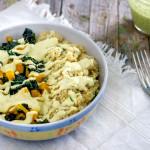Quinoa con cavolo nero e zucca | Ricetta vegan