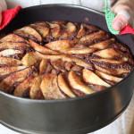 Torta pere e cioccolato | Ricetta vegan
