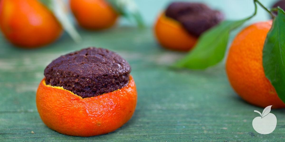 Muffin al mandarino e cioccolato   Ricetta vegan
