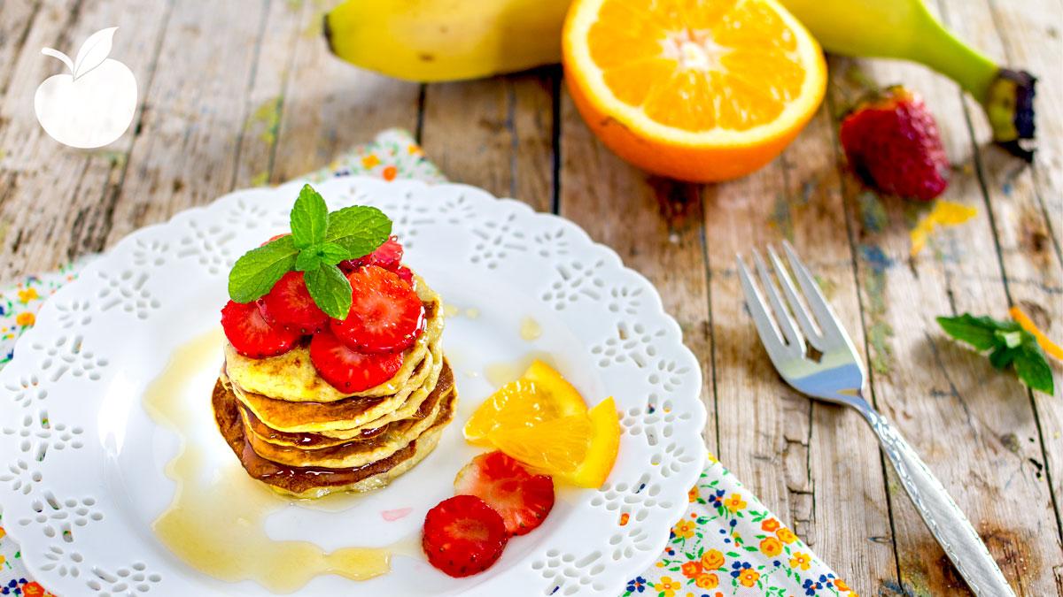 Banana Pancake | Ricetta light e gluten free