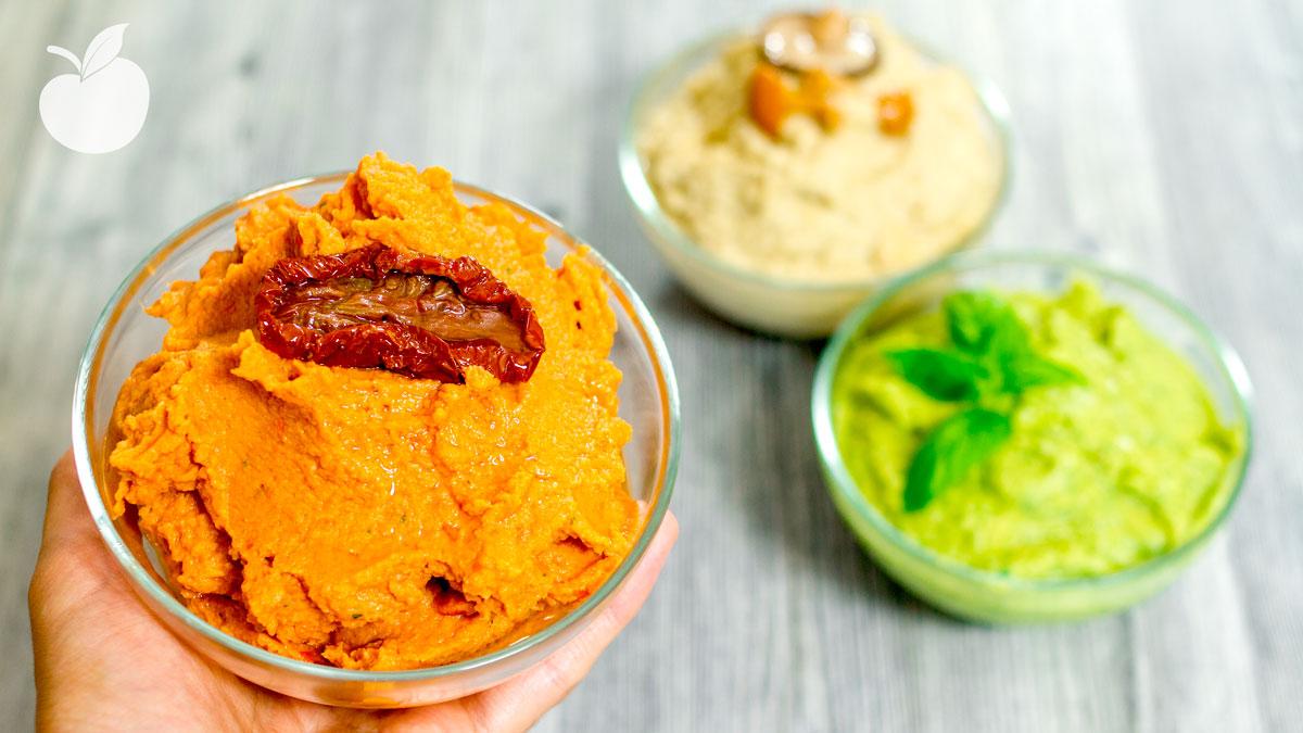 Hummus al pomodoro