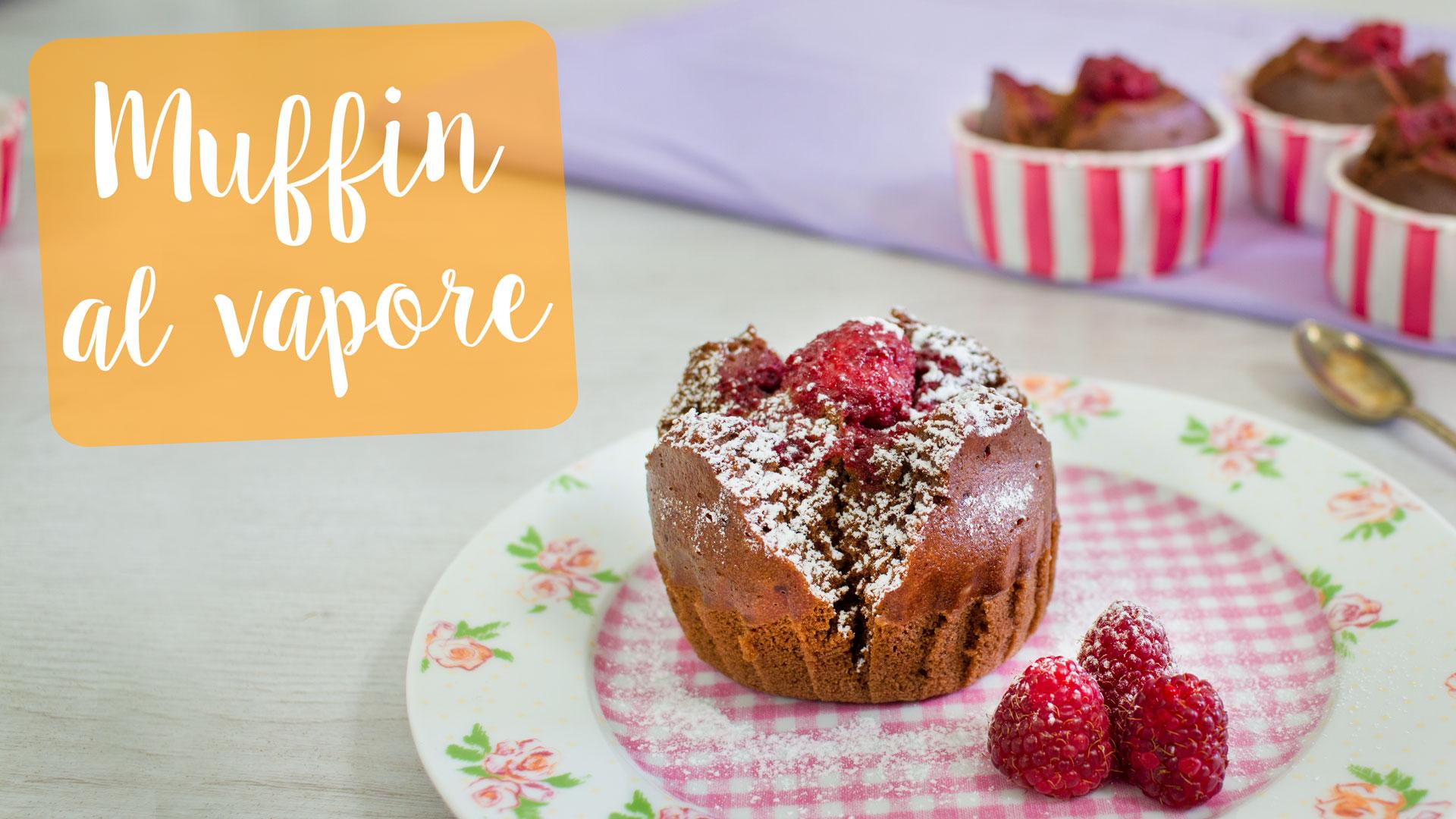 Muffin lamponi e cioccolato