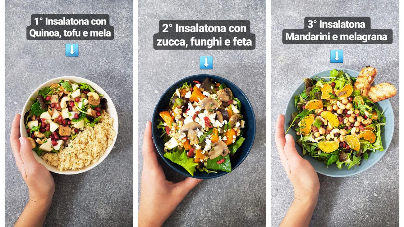3 idee per insalate invernali