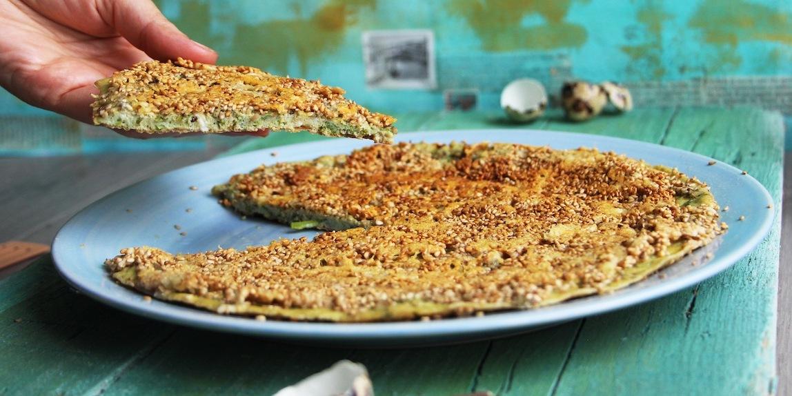 Frittata croccante agli asparagi selvatici