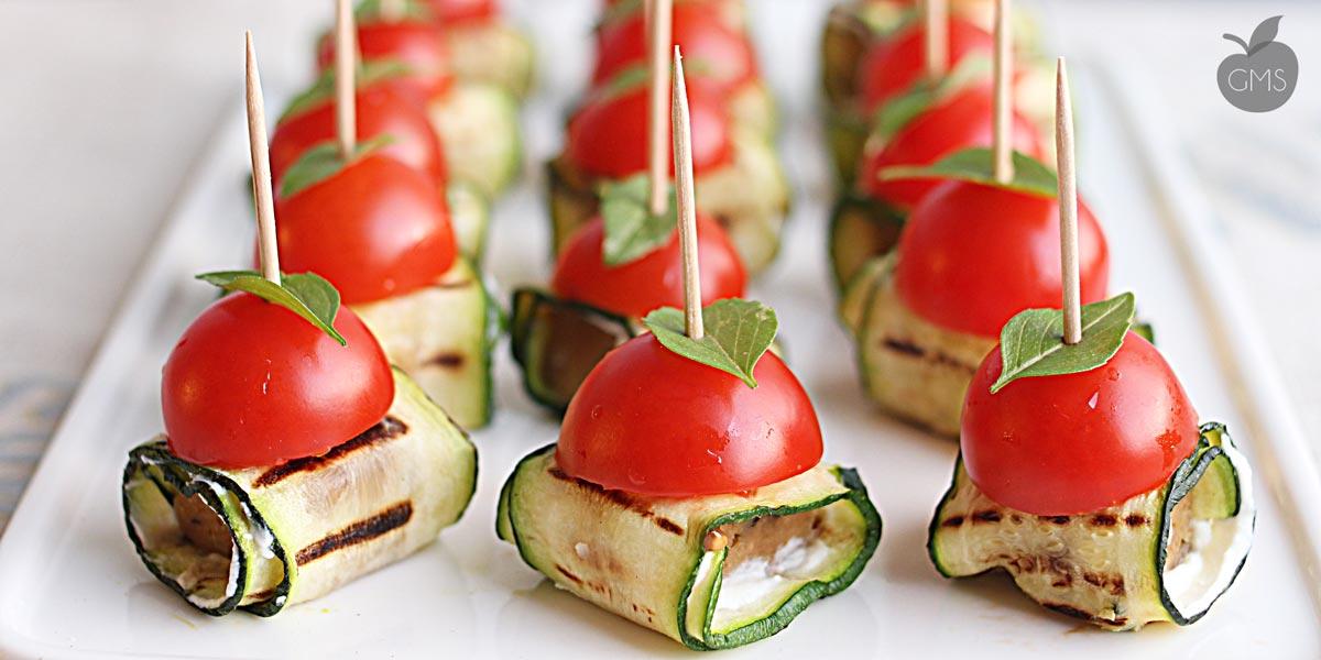 Involtini di Seitan e zucchine