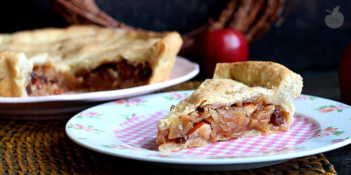 Apple pie ricetta originale di Peggy