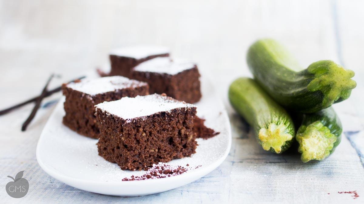 Torta al cioccolato con le zucchine