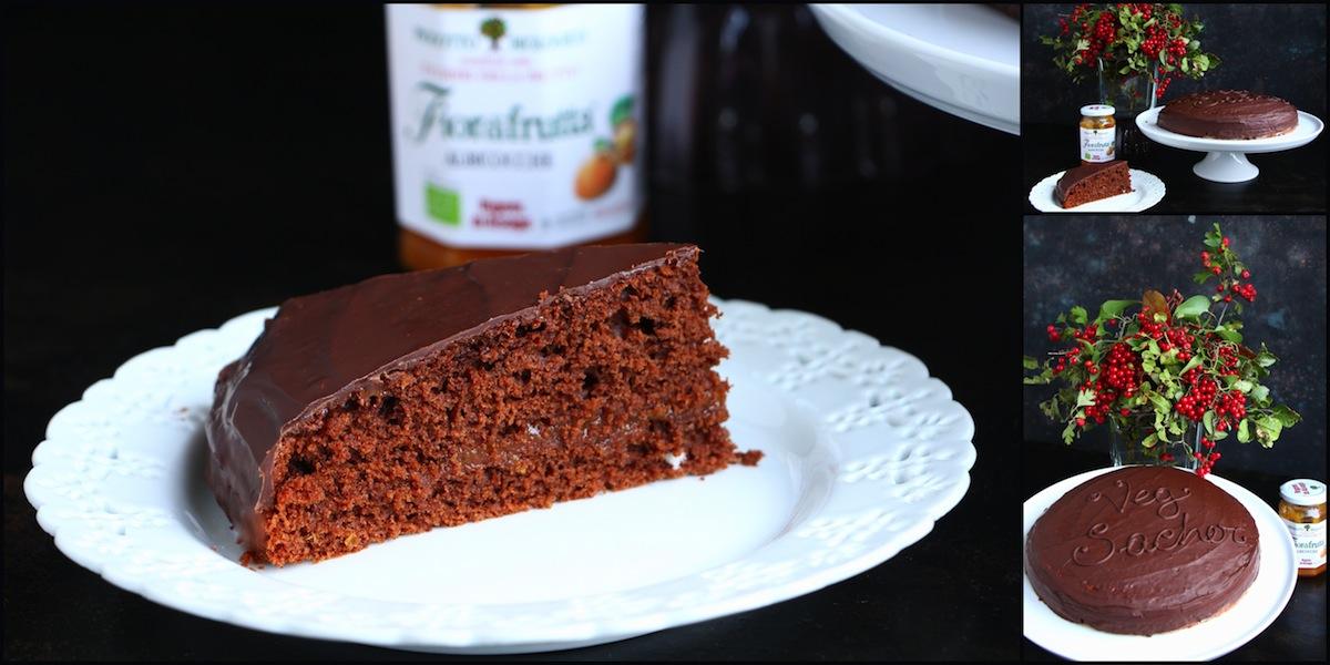 Sacher torte ricetta sana, veloce, leggera