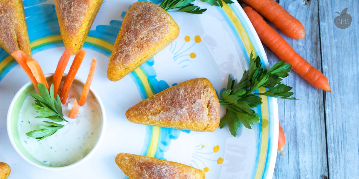 Pane fatto in casa alle carote