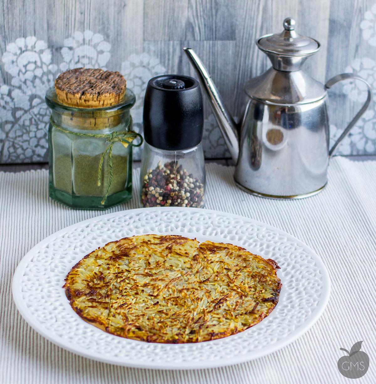Rosti di patate | Ricetta vegan, facilissima!
