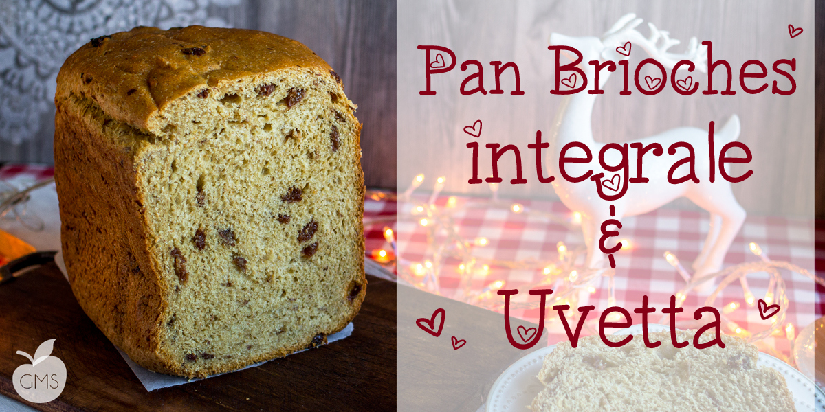 Pan brioche all'uvetta