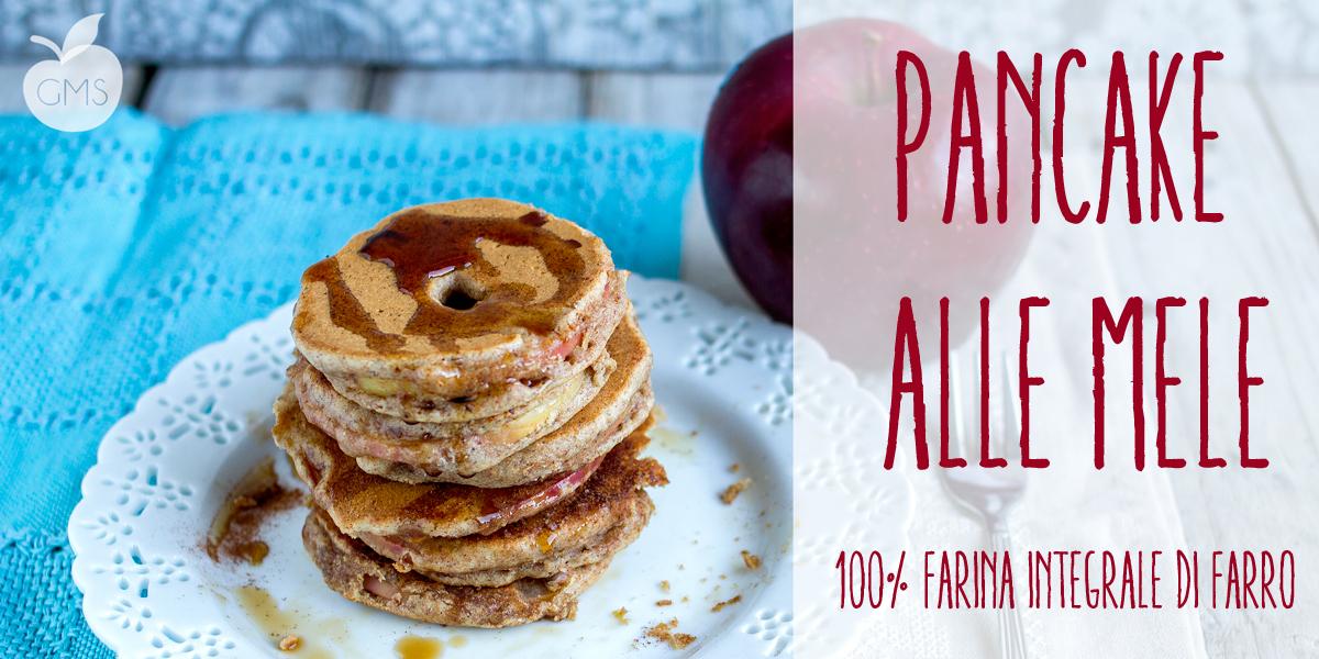 Pancake integrali alla mela