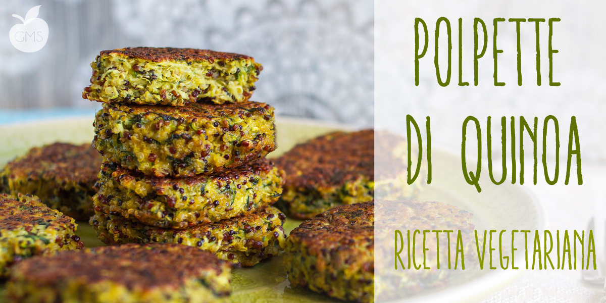 Polpette di quinoa e zucchine Vegetariane