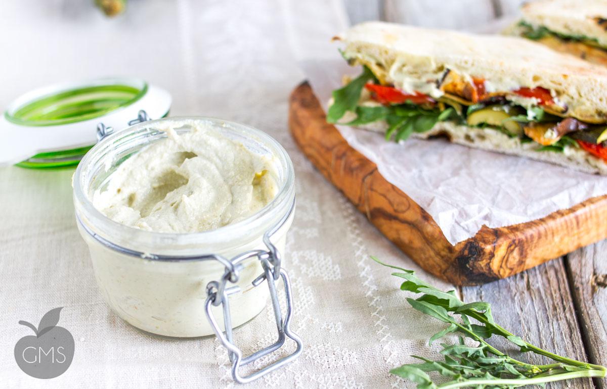 Crema di tofu e capperi | Ricetta vegan
