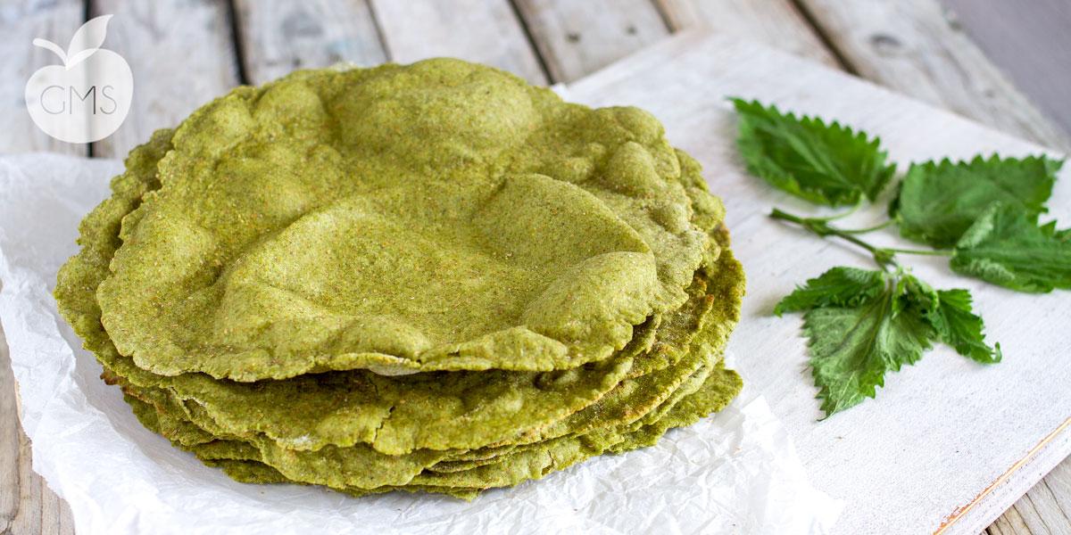 Piadine all'ortica – Ricetta vegan