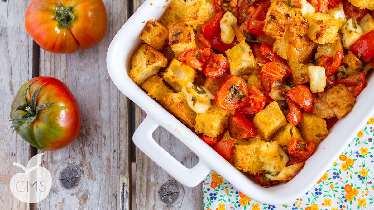 Panzanella cotta | Ricetta facilissima