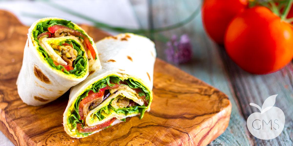 Veggie Wrap GOLOSISSIMI e LEGGERI | Piadine farcite fatte in casa
