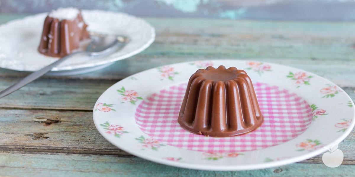 Budino al cioccolato | Ricetta vegan