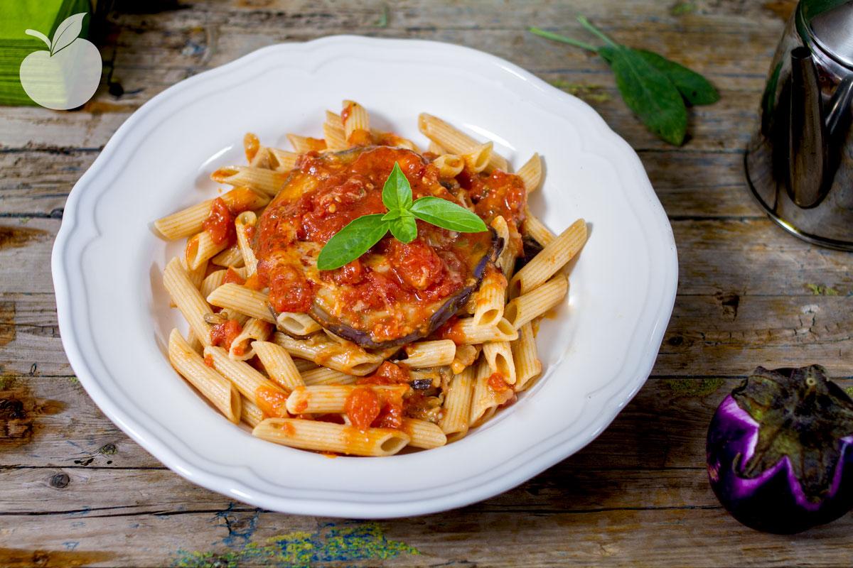 Pasta alla Parmigiana | Ricetta più leggera