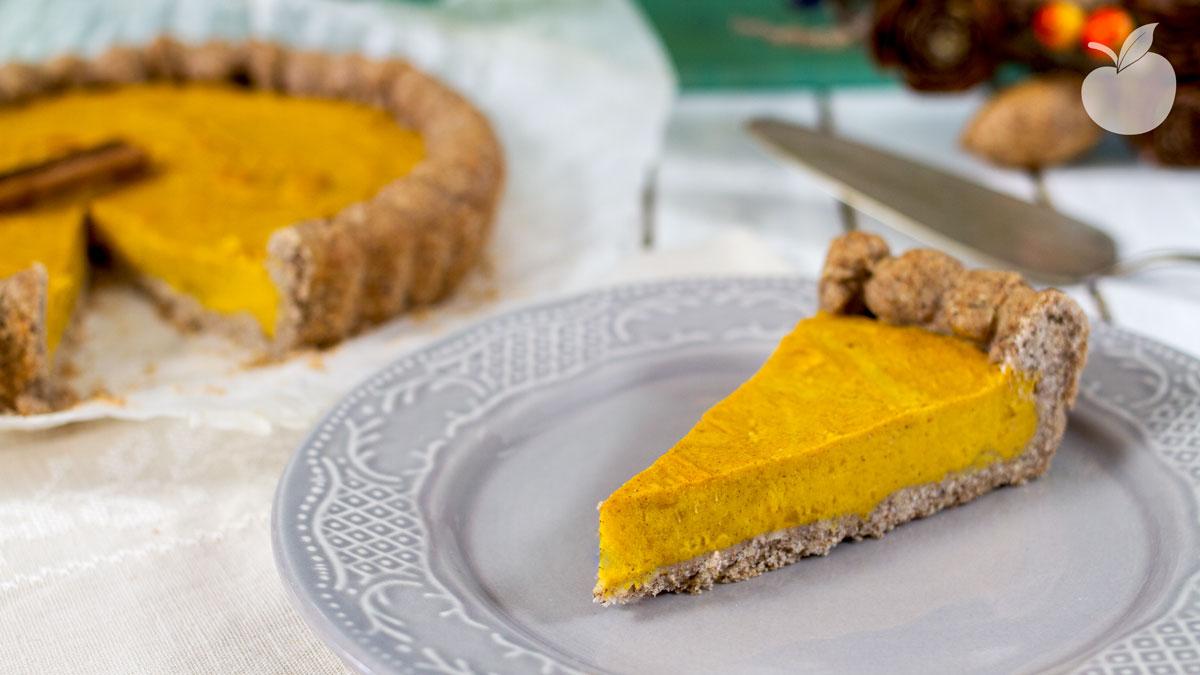 Pumpkin Pie | Ricetta senza glutine