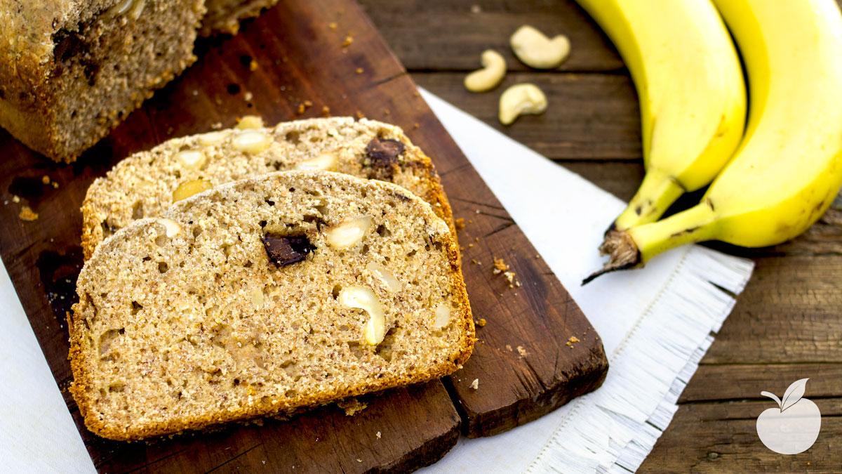 Banana Bread nella macchina del pane | Ricetta vegan