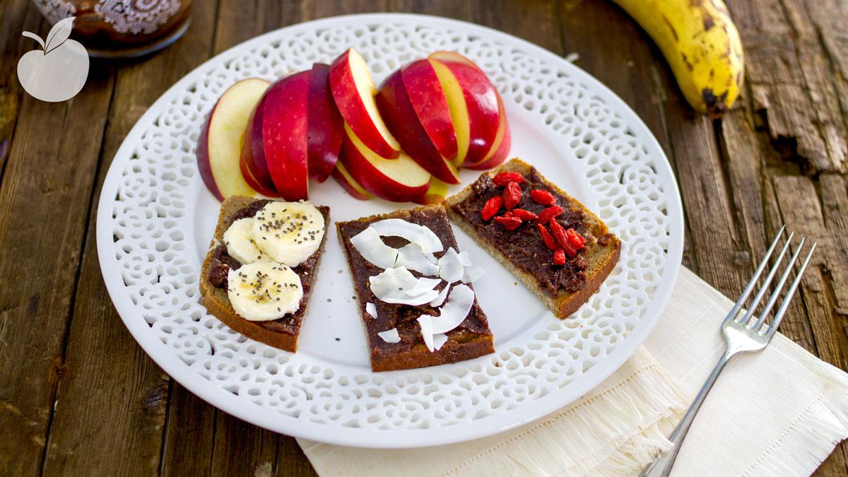 Simil Nutella fatta in casa, velocissima e sana | Ricetta vegan