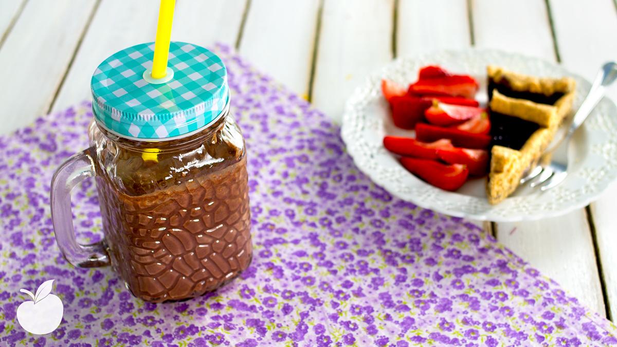 Frullato cocco e cioccolato